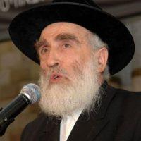 הרב יוסף צבי סגל שליט_א ראש הכולל